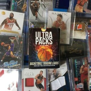 ULTRA Packs BASKETBALL HOT PACK 1 Guaranteed Hit. 10 15 Cards Per Pack.