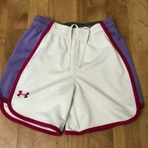 UA Under Armour Girls Loose fit Shorts Girls YOUTH SMALL $9.98