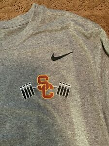 USC Trojans Nike Football Shirt XL Large Team Issued #36 Dri Fit Conditioning $300.00