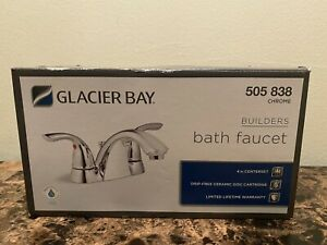 Glacier Bay 505 838 Builders Two Handle Bath Faucet Chrome Finish