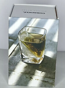 CORKCICLE Whiskey Wedge - Square Glass W/ Wedge Ice Form Insert