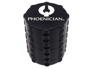 Authentic Phoenician Grinder - Black - Small 4-Piece - 2