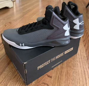 Under Armour Torch Mens Basketball Shoes 1259013 040 Size 12 Changeable Laces $25.60