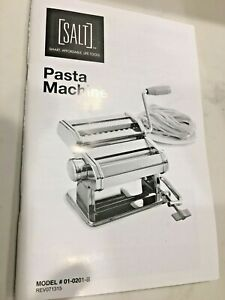 SALT PASTA MACHINE STAINLESS STEEL