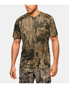 Under Armour UA Early Season Kit Iso Chill Realtree Camo Mens Shirt Size Large $26.72