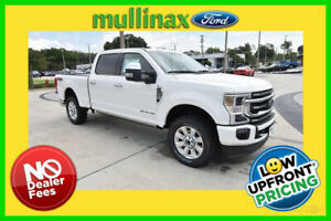 2020 Ford F-250 Platinum 2020 Platinum New Turbo 6.7L V8 32V Automatic 4WD Pickup Truck Moonroof