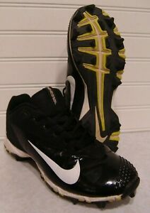 Nike Vapor Black White Youth Cleats Size 4Y 881972 $9.99