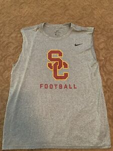 USC Trojans Nike Football Shirt XLTeam Issued #99 Dri Fit $225.00