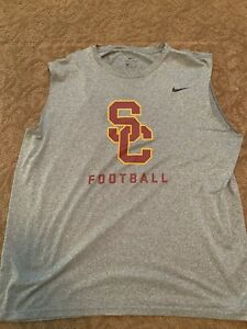 USC Trojans Nike Football Shirt XXL Team Issued #70 Dri Fit $225.00