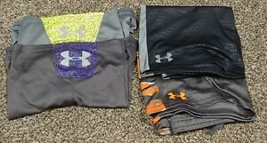 Lot of 4 Boys Youth XL Under Armour Shorts loose $10.00