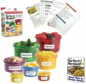 Perfect Portions Food Storage Containers