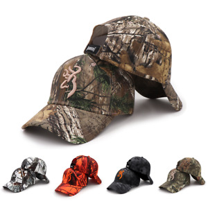 Newest Adjustable Camo Baseball Cap Fishing Caps Men Outdoor Hunting Camouflage