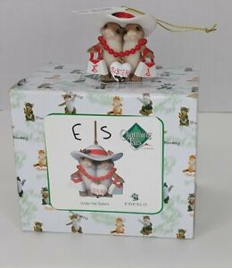 Charming Tails Under Hat Sisters Figurine Mouse Personalized E amp; S BRAND NEW $14.99