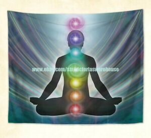 wall decor home chakras healing yoga meditation wall hanging tapestry