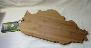 TOTALLY BAMBOO Illinois State Cutting Chopping & serving cheese Board
