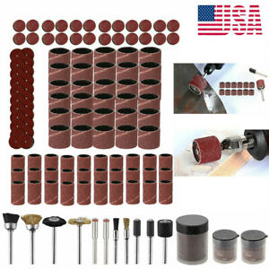 150PCS Rotary Tool Accessories Kit Grinding Polishing Cutting Sanding 1/8
