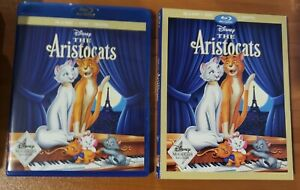 The Aristocats Blu ray and DVD Disney Movie Club Exclusive No Digital $7.00