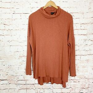 Out From Under Orange Turtleneck Sweater Womens Size Small $15.99