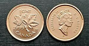 Canada 1999P Test Token UNC Small Cent Penny