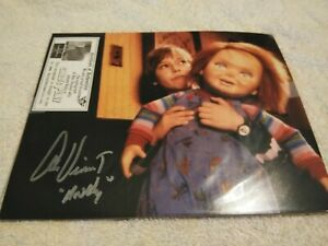 Fright Crate Childs Play Chucky Autograph Alex Vincent Andy Signed Auto W COA $32.50