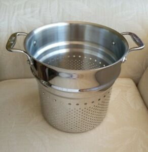 All-Clad Stainless Steel EUC! Strainer 9