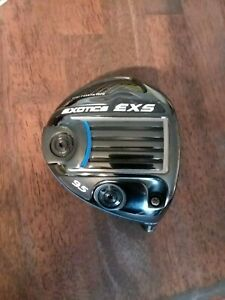 TOUR EDGE EXOTICS EXS TOUR ISSUE 9.5* DRIVER HEAD ONLY