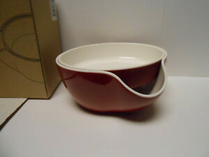 Kody Double Dish for Pistachios Peanuts Edamame Cherries Nuts Fruits Ca... $11.95