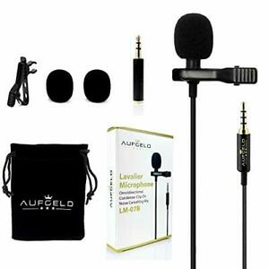 Professional Best Small Mini Lavalier Lapel Omnidirectional Condenser Microphone