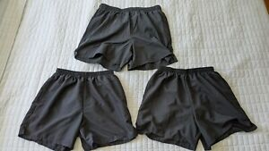 3 Gently Used NEW BALANCE 105 Lined Running Workout Shorts 5 Inch Short Black $30.00
