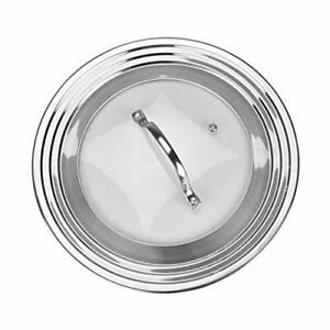 """Universal Glass Lid Fits All 7"""" to 12"""" Pots and Pans $18.99"""