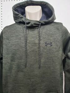 NEW Mens Under Armour Green Coldgear Fleece Pullover hoodie Small $29.99