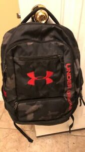 Under Armour Storm 1 Red Black Gray Camo Great condition $14.10