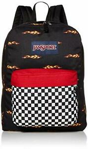 JanSport Superbreak Backpack, Finish Line Flame