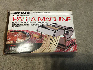 Emson Stainless Steel Pasta Machine