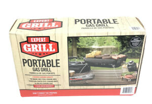 NEW Expert Grill Potable Propane Gas Table Top Grill 17.5 Inch 10,000 BTU