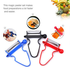NEW 2020 Professional Magic Trio Peeler Vegetable Fruit Julienne (Set of 3)