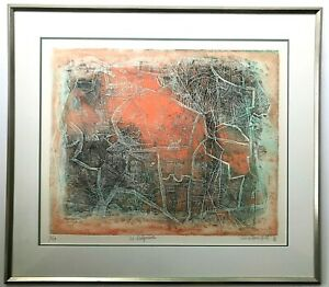 Shoichi Hasegawa Limited Edition Signed and Numbered Lithrograph Le Labyrinthe $899.00