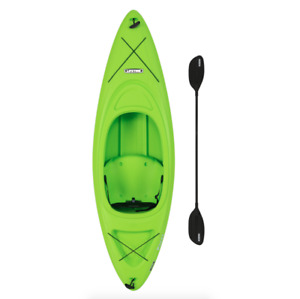 Lifetime 8ft. Pacer 80 Sit In Kayak w Paddle Lime Green Brand New