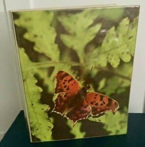 Vintage Butterfly Binder with clip board