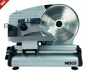 Stainless Steel Electric Meat Food Slice Machine Cheese Deli Bread Cutter Blade