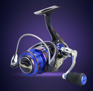 Fishing Reels Spinning 131 BB Ball Bearing Pre Loading Metal Spinning Fishing