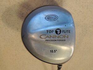 TOP FLITE CANNON PRECISION FORGED 460cc DRIVER.10.5*.MED FIRM GRAPHITE NEW GRIP
