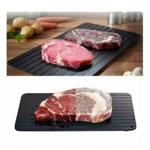 M Size Fast Defrosting Tray Meat Thaw Rapid Safety Thawing Frozen Food Defrost