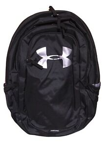 Under Armour Unisex Scrimmage Backpack 2.0 Black Silver One Size Fits All $18.00