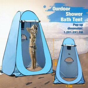 Pop Up Shower Tent Shelter Toilet Beach Camping Outdoor Changing Room