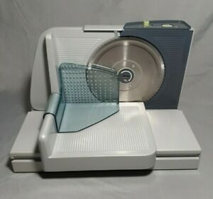 Krups Food Cheese Meat Slicer Model 372 Works Well.