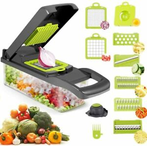 10 in 1 Vegetable Chopper Multifunction Food Fruit Dicer Cutter Veggie Slicer