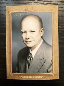 2007 Topps Turkey Red Presidents Dwight Eisenhower TRP 34