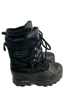LaCrosse Thermolite Black Hiking Snow Winter Hunting Boots WOMENS Size 6