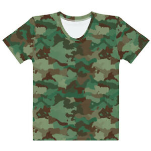 Army Camouflage Women#x27;s T shirt